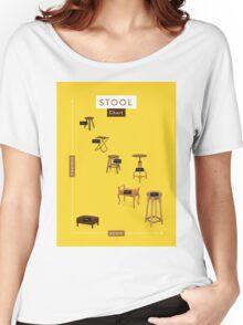 Stool Chart Women's Relaxed Fit T-Shirt