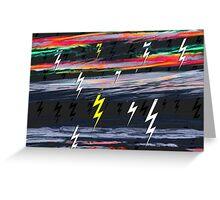 Acid Storm Greeting Card