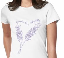 Innocence Lost to Lavender... Womens Fitted T-Shirt