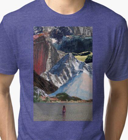 Destination: Mountains Tri-blend T-Shirt