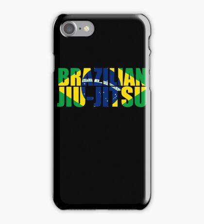 Brazilian Jiu Jitsu Flag (BJJ) iPhone Case/Skin