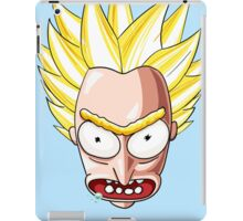 Super Saiyan Rick iPad Case/Skin