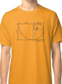 The Golden Rectangle Classic T-Shirt