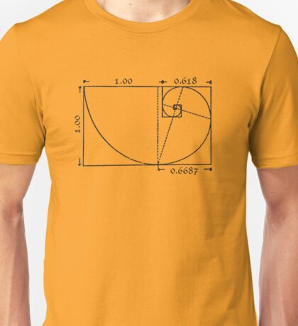 The Golden Rectangle Unisex T-Shirt