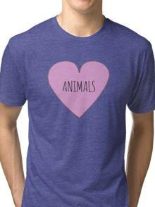 Animals <3 Tri-blend T-Shirt