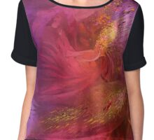 Orchid Moods Chiffon Top