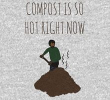 Compost Is So Hot Right Now One Piece - Long Sleeve