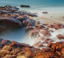 Red Rocks Beach #3 Sticker