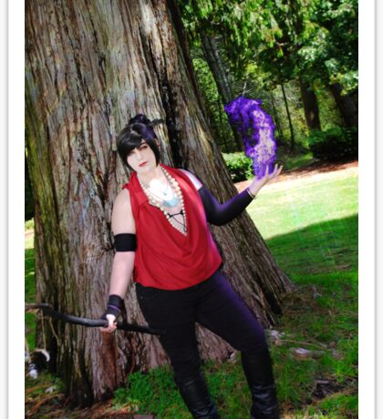 MORRIGAN COSPLAY / DRAGON AGE ORIGINS Sticker