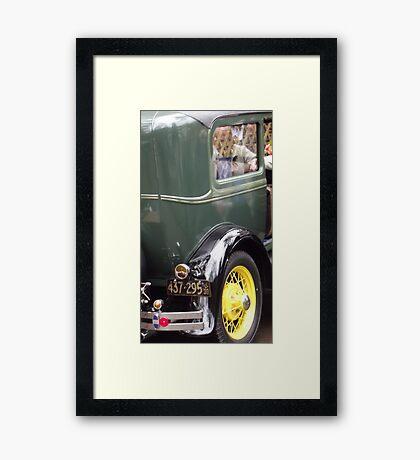 Oldtimer Ford 1940 Framed Print