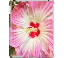 Orchid in Pink and White iPad Case/Skin
