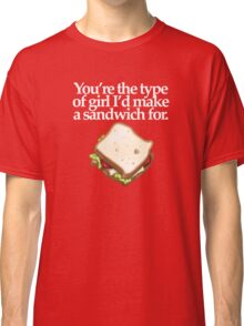 SANDWICH for GIRL  (DARK) Classic T-Shirt