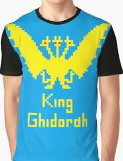 King Ghidorah Pixel Graphic T-Shirt