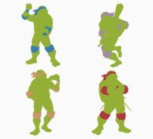 Teenage Mutant Ninja Turtles One Piece - Short Sleeve