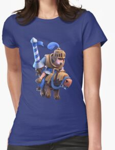 Blue Prince in Charge Clash Royale Game Womens Fitted T-Shirt