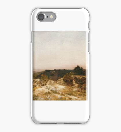 Sand Dunes at Sunset about Jean Charles Cazin iPhone Case/Skin
