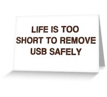 Pc Funny USB Greeting Card