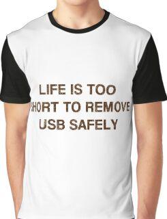 Pc Funny USB Graphic T-Shirt