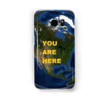 You Are Here Samsung Galaxy Case/Skin