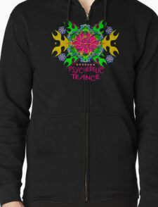 PSYCHEDELIC TRANCE Zipped Hoodie