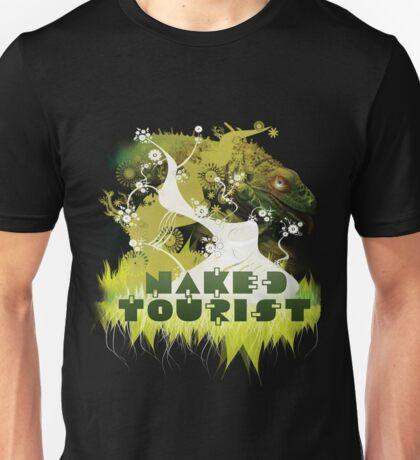 NAKED TOURIST IGUANA Unisex T-Shirt