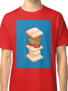 Anatomy of a Club Sandwich Classic T-Shirt