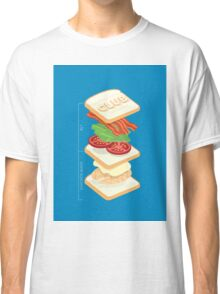 Anatomy of a Club Sandwich Classic T-Shirt