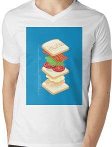 Anatomy of a Club Sandwich T-Shirt