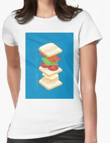 Anatomy of a Club Sandwich T-Shirt