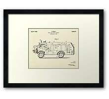 Mobile Fire Fighting Apparatus-1941 Framed Print