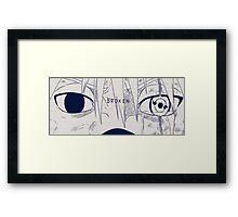 Kakashi's eyes Framed Print