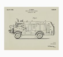 Mobile Fire Fighting Apparatus-1941 Baby Tee