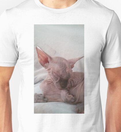 Sweet choccolate tortie sphynx cat Unisex T-Shirt