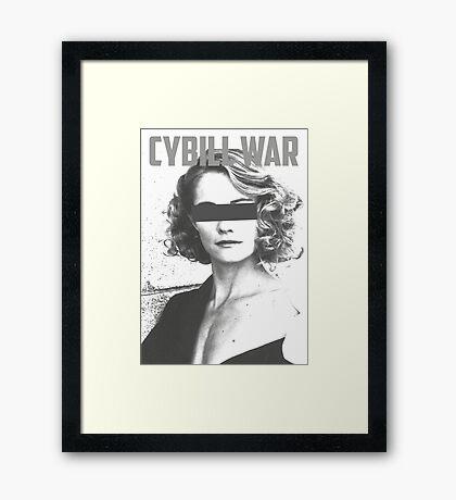 Cybill War Framed Print