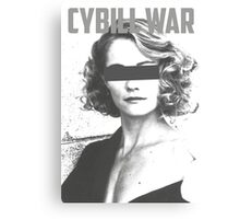 Cybill War Canvas Print