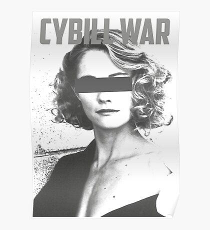 Cybill War Poster