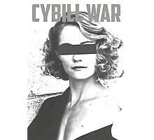 Cybill War Photographic Print
