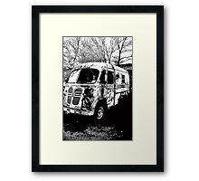 Metro Van Framed Print