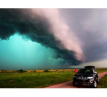 Blue Green Beast Supercell Photographic Print