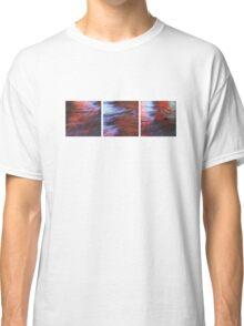 Citylights: Hong Kong Harbour #7 - LEFT-MIDDLE-RIGHT - Triptychon Classic T-Shirt