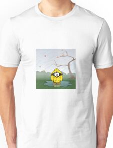 Penguin in the rain Unisex T-Shirt