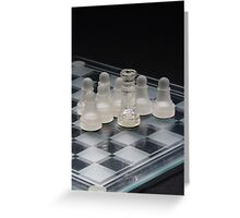 Chess Surrounded 2 Greeting Card