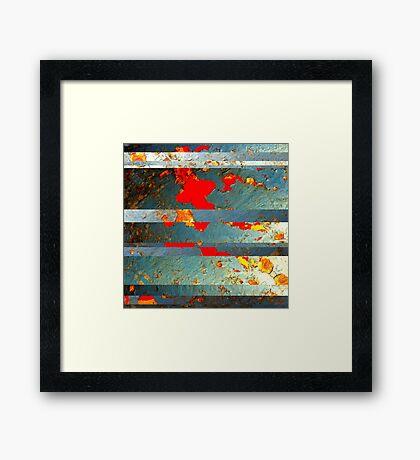 Metal Mania - No.5 Framed Print