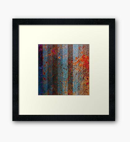Metal Mania - No.1 Framed Print