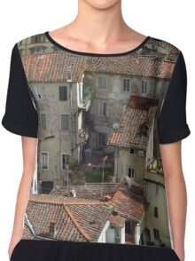 Tiles and Windows, Lucca  Chiffon Top
