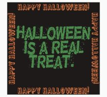 Halloween Is A Real Treat One Piece - Short Sleeve