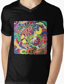 Snakes Mens V-Neck T-Shirt