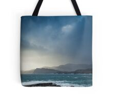 Storm clouds over Sliabh Liag Tote Bag