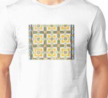 Yellow Azulejo Unisex T-Shirt