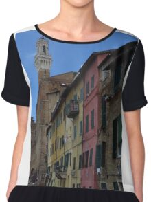 Colourful Siena Chiffon Top